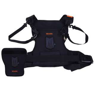 CS - S20 - H1 H2 MULTIFUNCTION RAINPROOF CAMERA CHEST HARNESS HOLSTER FOR OUTDOOR SPORT SHOOTING 28.00 x 25.00 x 7.00 cm