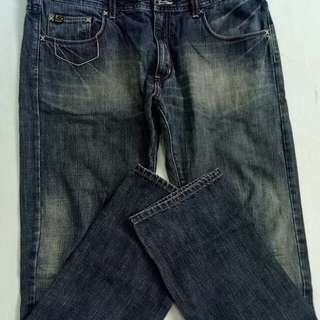 LEE PIPES denim pants
