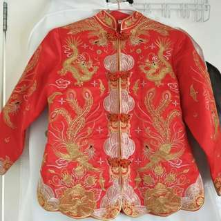 Chinese Tea Ceremony Traditional Dress (Kua) - Size 8/10  Small