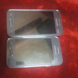 Samsung Galaxy G313HU and Young 2