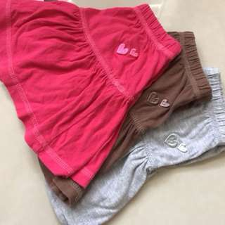 2-3t skirts and top