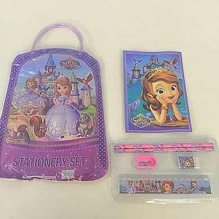 Birthday Party: Sofia Stationery Bag Set