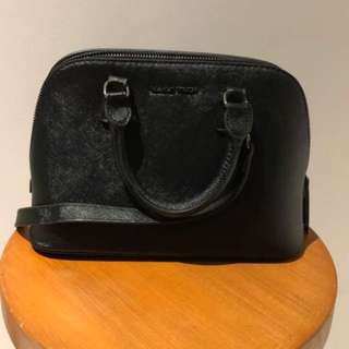 Mango touch black sling bag