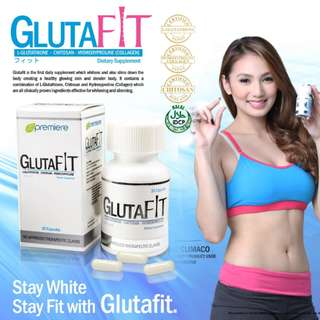 GlutaFit Stay White Stay Fit with Glutafit Made in Japan
