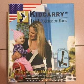 Kidcarry 嬰兒揹帶 hip seat