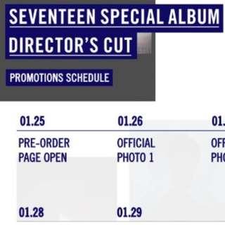[po] SEVENTEEN - Special Album Director's Cut