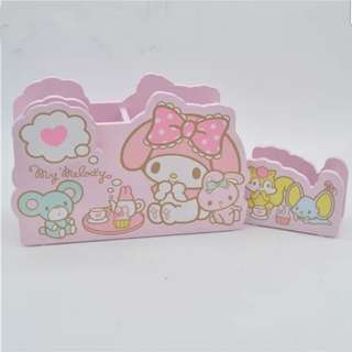 My melody wooden sweet pink stationery holder