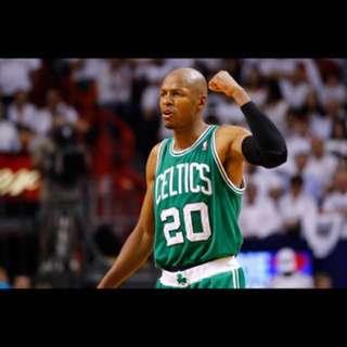🚚 nba jersey Ray Allen Celtics YM 刺繡 雷槍