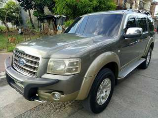 2007 ford everest 4x4 limited innova fortuner vios