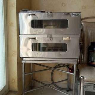 Reprice!!! Oven gas.. bisa baking 4 loyang sekaligus..