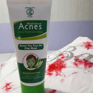 Acnes Tree Tea Oil Clay Mask