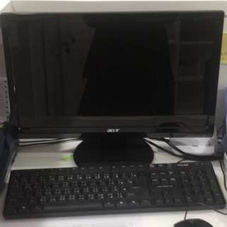 Acer mon+ DeLL Optiplex GX620 電腦主機