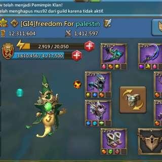 Akun game lords mobile