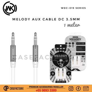 WK Design WDC-019 Melody Aux Cable DC 3.5mm Audio Cable