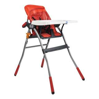 Chicco Jazzy Highchair (Red)