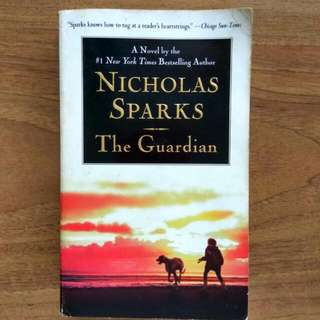 $4.90 nicholas sparks the guardian #1 new york times bestseller