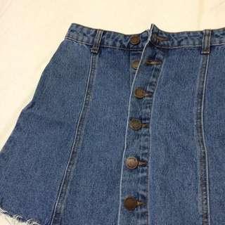 Glassons- Demin Mini Skirt