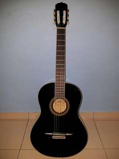 Black Acoustic Guitar w/ FREE GIFTS!