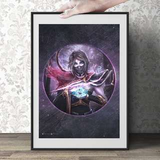 Dota 2 Circle design art prints
