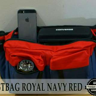 TAS SELEMPANG WAISTBAG/DISTRO/ROYAL