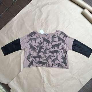 Cheetah blouse