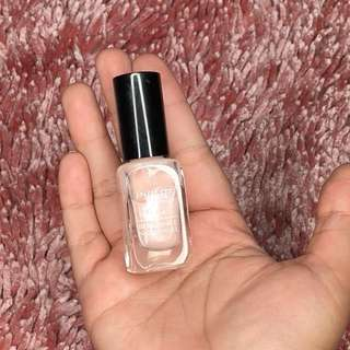 Inglot Breathable Nail Enamel - 603 (Glittery Baby Pink)