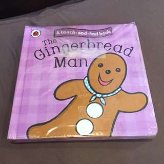 Touch and Feel Gingerbread Man Book
