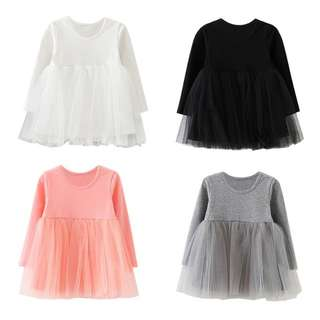 cotton tutu skirt babygirl dress