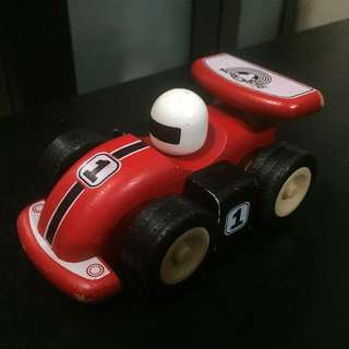 Wooden Race Car