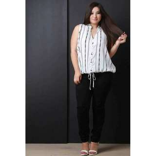 Plus Size Sleeveless Top ♥