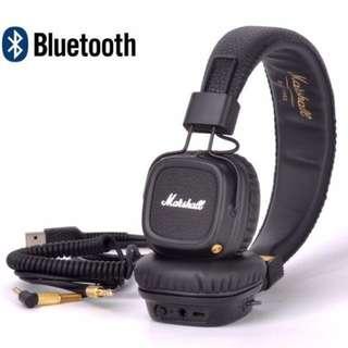 [PO] Marshall Major 2 Bluetooth Headphones