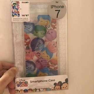 IPhone7 反轉腦朋友殻連玻璃貼