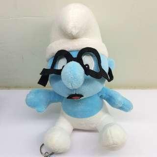 Smurf soft toy
