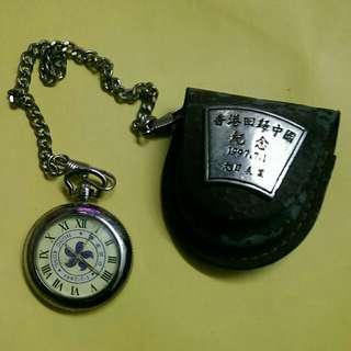 中古1997回歸紀念 陀錶 玩嘢王 陀錶以㙥只能作收藏HK300元