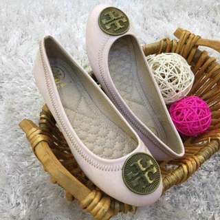 TORY BURCH DOLL SHOES . .