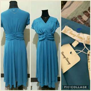 XL Blue formal dress