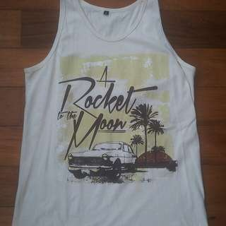 A ROCKET TO THE MOON TANK TOP