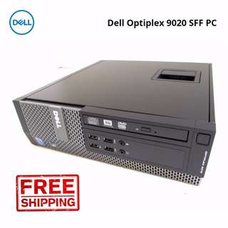 Dell Optiplex 9020 SFF Busienss Desktop Quad Core i5-4570#3.2GHz 32GB DDR3 500GB HDD Win 10 Pro