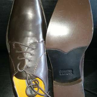 Johnston & Murphy mens leather shoes