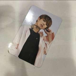 WTT BTS Wings Tour DVD Jungkook Photocard