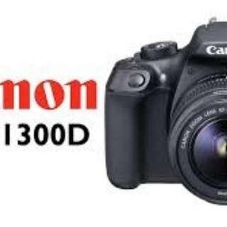 Bisa Cicilan Tanpa Kartu Credit Camera EOS 13000D