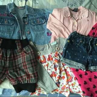Bundle Sale:6 pcs Branded kids clothing for $50