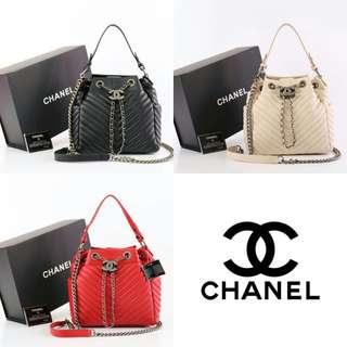 Tas Chanel Chevron Small 91273
