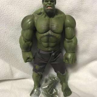 Avengers Hulk Action Figure with extra open hands