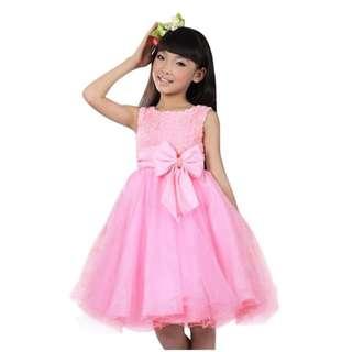 Pink roses dress