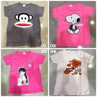 2Y-4Y Kids T-shirts