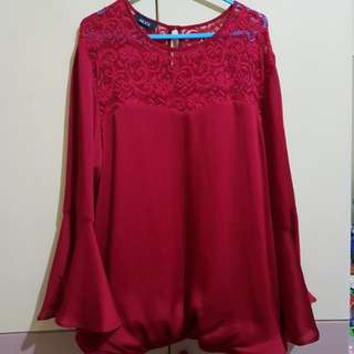 Plus size alyx blouse