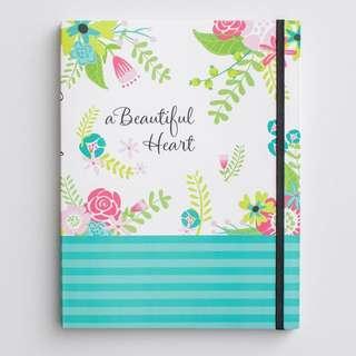 A beautiful heart Christian Notebook