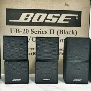 Bose Jewel Cube Speaker Set 4pcs