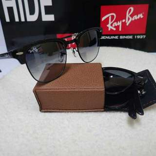 Rayban clubmaster folding